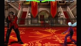 King of fighters 2006 gameplay kula part 1
