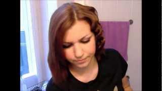 Locken für kurzes Haar (Tutorial)