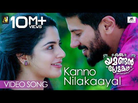 oru-yamandan-premakadha-|-kanno-nilakayal-video-song-|-dulquer-salman-|-nadirsha-|-najim-arshad