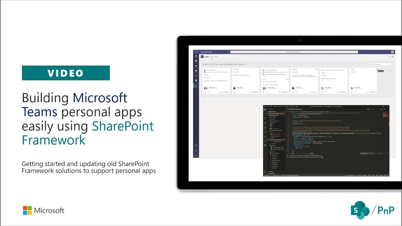 Building Microsoft Teams personal apps using SharePoint Framework