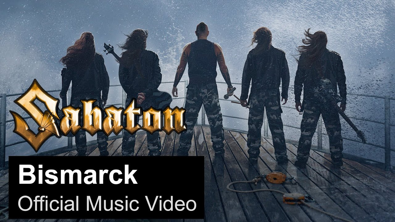SABATON - Bismarck (Official Music Video)