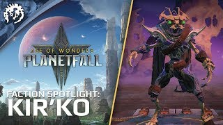 Age of Wonders: Planetfall - Faction Spotlight: Kir