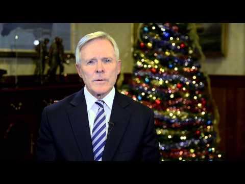 Secretary of the Navy Ray Mabus 2013 Holiday Message