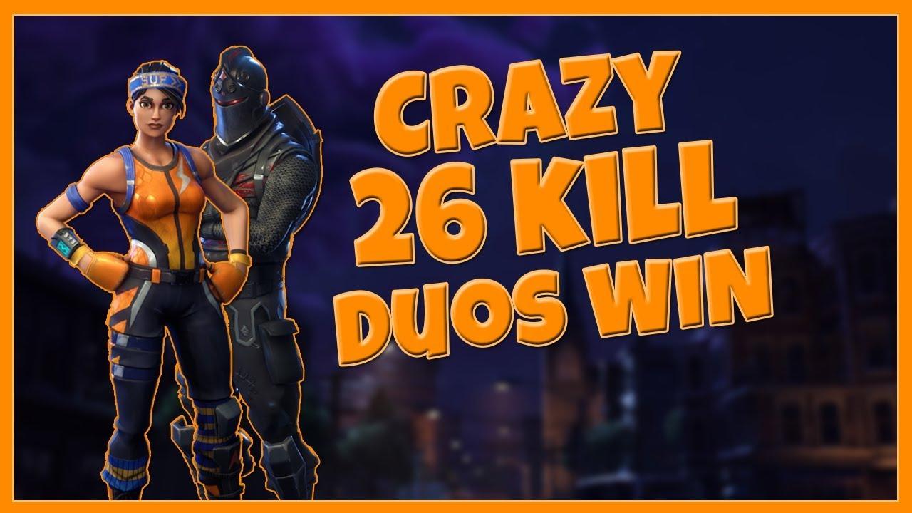 We Got A 26 Kill Win Fortnite Battle Royale Youtube Fortnite Free