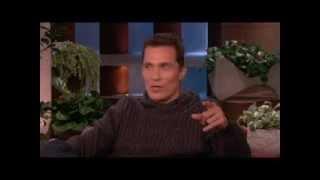 Matthew McConaughey on Losing Weight on Ellen show