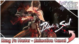 Animation Cancel do Kung Fu Master - Blade and Soul