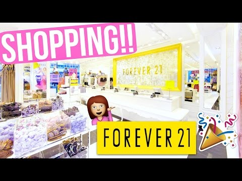 FOREVER 21 SHOPPING W/ ASHLEY + TARYNE!!