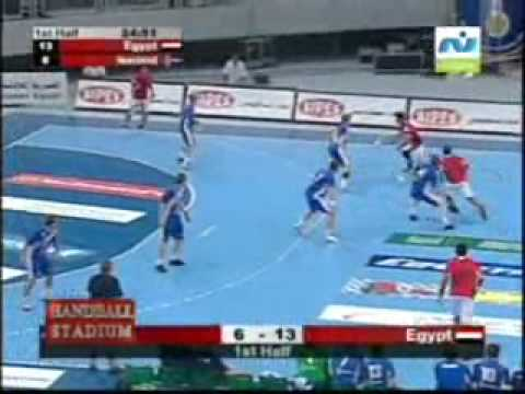 Egypt beat Iceland in the Handball World Cup