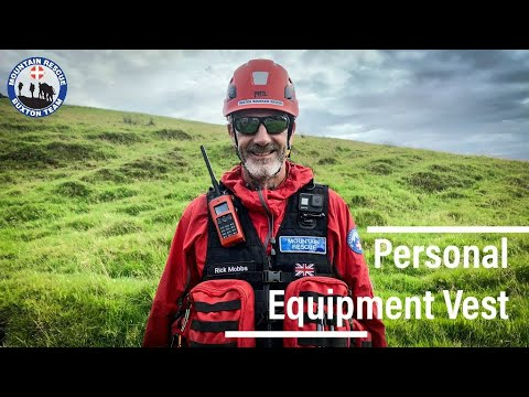 What Gear Do Mountain Rescue Use And Carry | Personal Equipment Vest For Search And Rescue