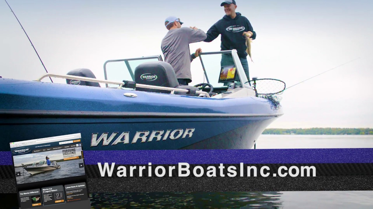 Warrior Boats V208 Taking the Warrior Difference to the Next Level!!!