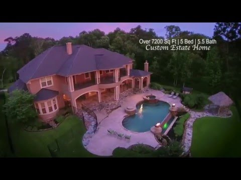 Kings River Estates Luxury Lake Home For Sale on Lake Housto