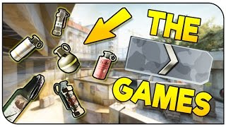 CS:GO | The Silver Games #8 | GRENADES ONLY!