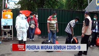 Sembuh dari COVID-19, Puluhan Pekerja Migran Dipulangkan #iNewsPagi 28/09