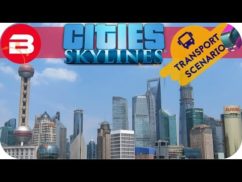 Cities Skylines Gameplay - PEARLS FROM THE EAST (Cities: Skylines TRANSPORT Scenario) #9