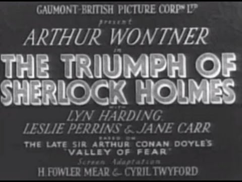 the triumph of sherlock holmes (1935) - full movie. - youtube