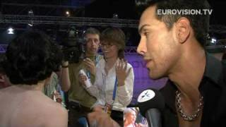 Greenroom reactions at the Eurovision Song Contest Final 2009 (Part II)