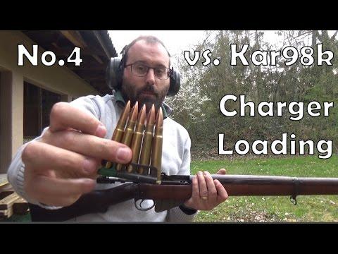 Lee-Enfield No.4 vs. Kar98k: charger loading