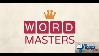 Word Masters - Free Word Games #1 (WISDOM 1-15)  - TAPPS GAMES
