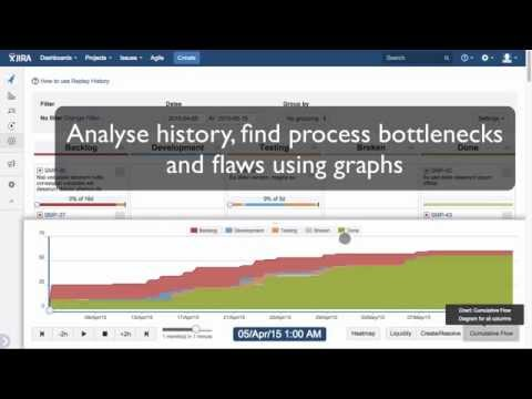 JIRA Replay plugin - Animate and analyse history of issues