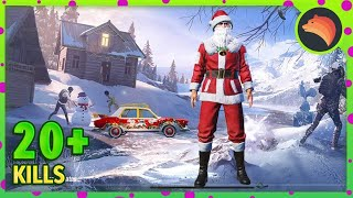 Playing With FULL SANTA Set | PUBG MOBILE