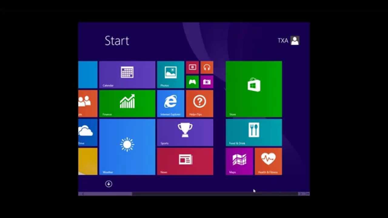 Virtual Machine Windows 8