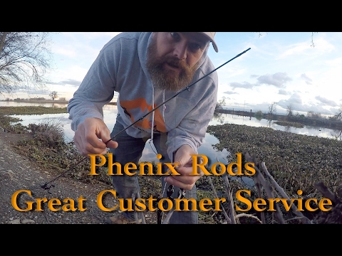 Good Customer Service Story - Phenix Rods