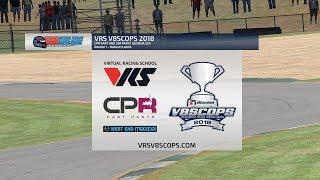 Virtual Racing School V8SCOPS 2018 - CPR Kart and Sim Parts Georgia 250
