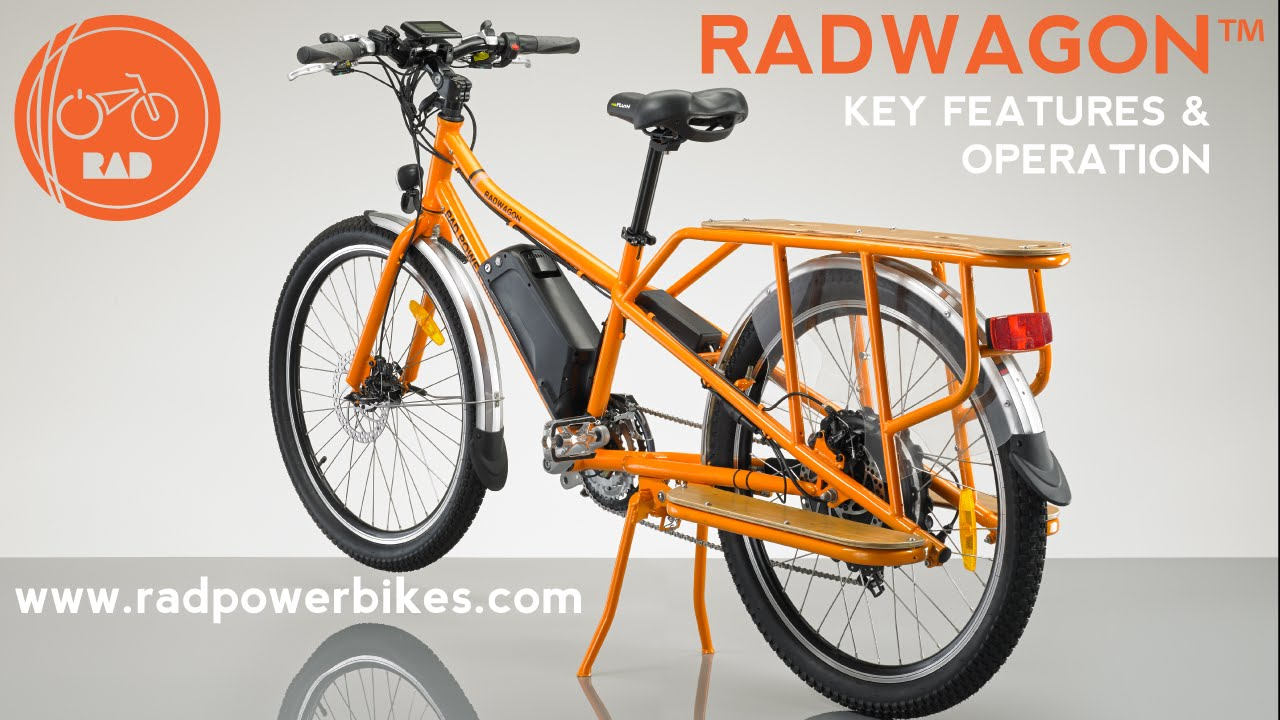 2016 17 radwagon electric cargo bike features and. Black Bedroom Furniture Sets. Home Design Ideas
