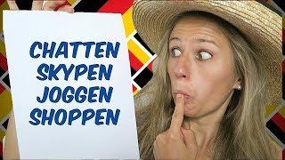 German Lesson A2-1: Was ist DENGLISCH?? - TOP 10 denglische Verben
