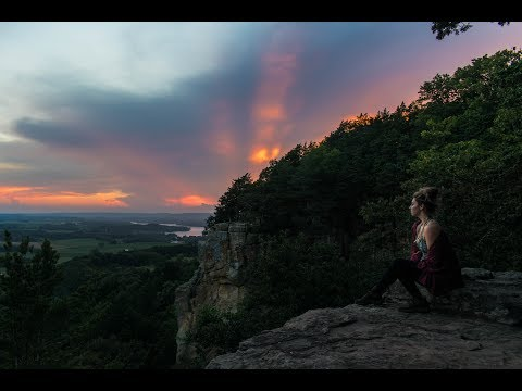 The Gorgeous Gibraltar Rock, Wisconsin with my Girlfriend 1080p