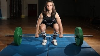 Muscle Girl: Weightlifting 15-year-old Can Lift More Than You