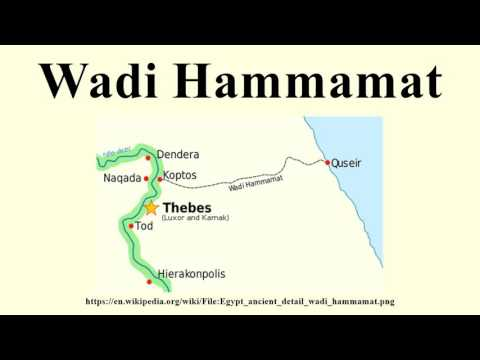 Wadi Hammamat