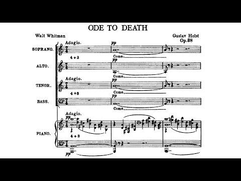 Gustav Holst - Ode to Death (1919)