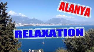 Relaxation Timelapse Alanya Liman Alanya Port Порт Аланьи Турция Алания