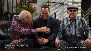 GH MAURICE BENARD's 2 FATHERS Sonny Corinthos Mike General Hospital Max Gail Promo Preview 6-18-18