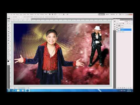 Photoshop CS5   Phan 1   Bai 13   Ung dung Ghep phong xanh   YouTube