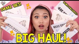 HAUL NA NAMAN | SOBRANG DAMING False Eyelashes?!