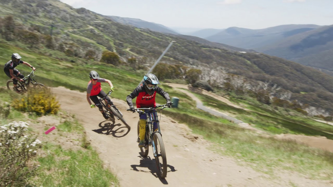 Thredbo Mountain Bike Park: Kosciuszko Flow Trail