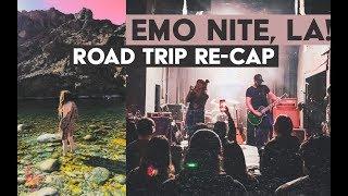 Emo Nite LIVE footage | ROAD TRIP RECAP
