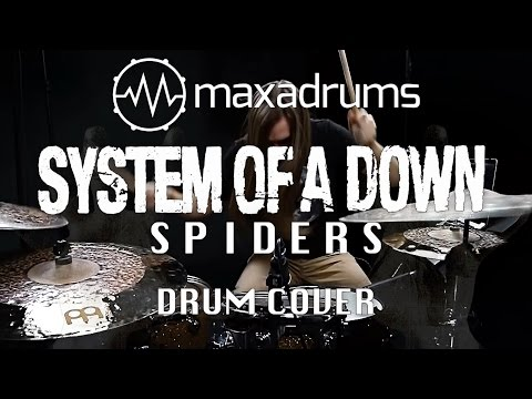 SYSTEM OF A DOWN - SPIDERS (Drum Cover)