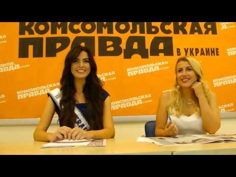 Miss Ukraine Universe 2016 Alena Spodynyk, interview, part2