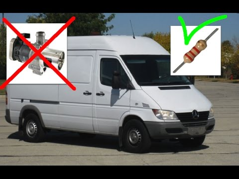2005 Sprinter EGR ByPass and engine breather ByPass from Turbo - YouTube