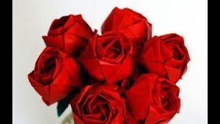 как Сделать Подарок маме,бабушке,учителю своими руками сделать из бумаги цветы 8 марта/день матери