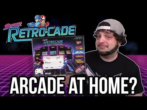 Super Retro-Cade: Arcade, NES, and SNES Games on Plug-n-Play | RGT 85