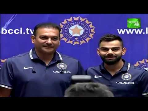 Virat & Shastri Speak Before Leaving For South Africa Tour