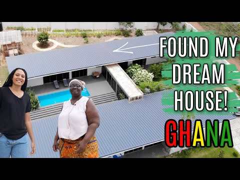 DREAMY 7 BEDROOM HOUSE TOUR IN GHANA | BUILDING A HOUSE IN G