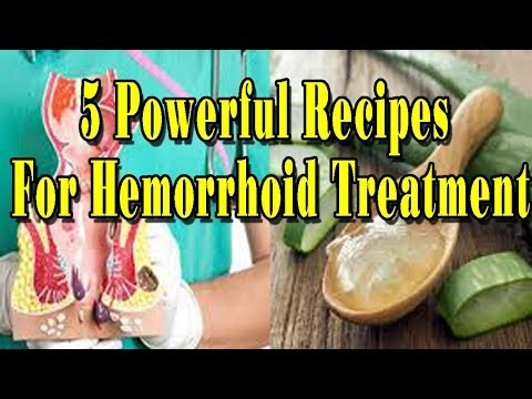 5 Powerful Recipes For Hemorrhoid Treatment - Natural health cures