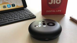 New JioFi Wireless Data Card (JMR815) Unboxing and Setup!!
