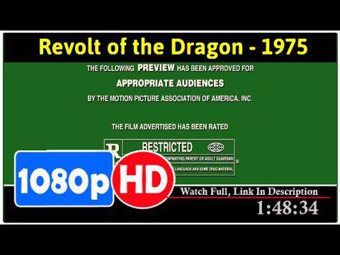 Revolt of the Dragon (1975) *Full MoVieSs*#*