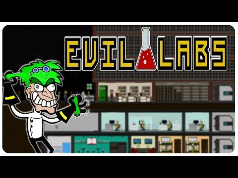 Run The Most EVIL CORPORATION, Make All The Money! | Evil Labs Gameplay